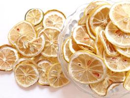 柠檬烘干效果